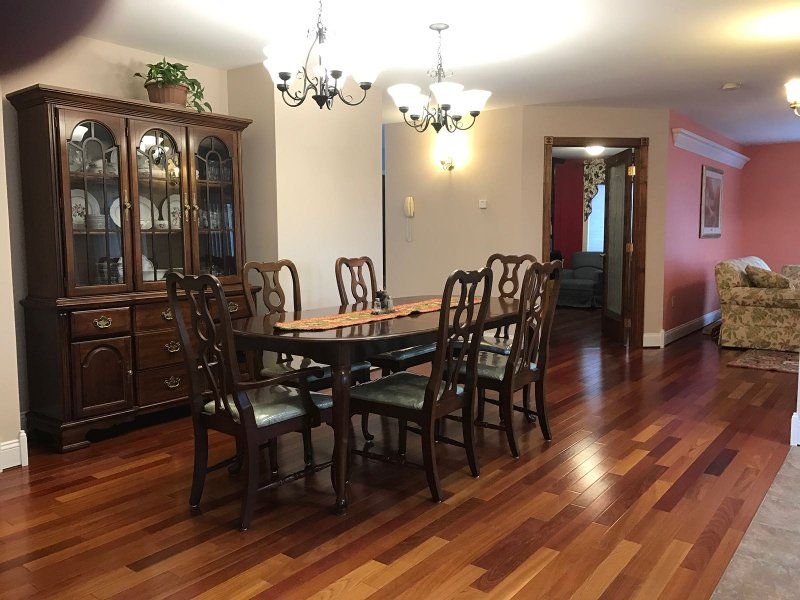 Larger dining room in vacation home